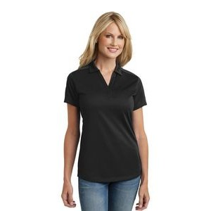 Ladies' Port Authority® Diamond Jacquard Polo Shirt