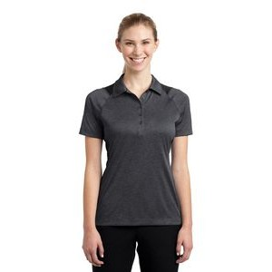 Sport-Tek® Ladies' Heather Colorblock Contender™ Polo Shirt