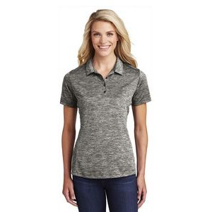 Sport-Tek® Ladies PosiCharge® Electric Heather Polo Shirt