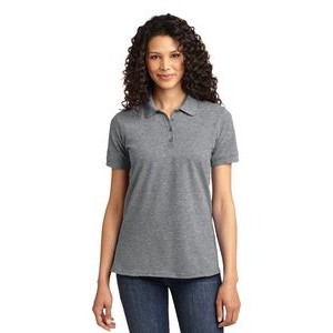 Port & Company® Ladies' Core Blend Pique Polo Shirt