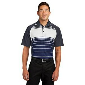 Sport-Tek® Dry Zone® Sublimated Stripe Polo Shirt