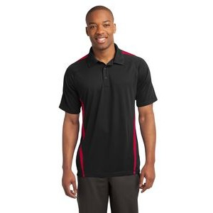 Sport-Tek® PosiCharge® Micro-Mesh Colorblock Polo Shirt