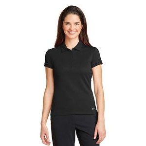 Nike Ladies Golf Dri-FIT Solid Icon Pique Polo Shirt