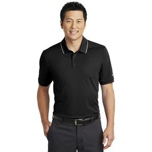 Nike Dr-FIT Edge Tipped Polo Shirt