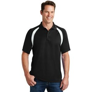 Sport-Tek® Dry Zone® Colorblock Raglan Polo Shirt