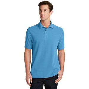 Port & Company® Men's Combed Ring Spun Pique Polo Shirt