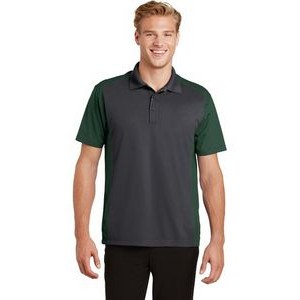 Men's Sport-Tek® Colorblock Sport-Wick® Polo Shirt