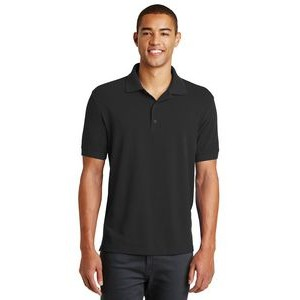 Eddie Bauer® Men's Cotton Pique Polo Shirt