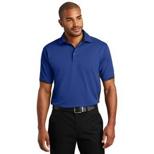 Port Authority® Dry Zone® Colorblock Ottoman Polo Shirt