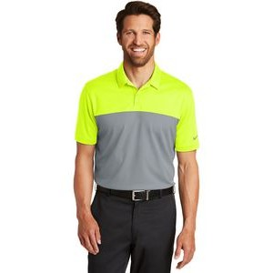 Nike Golf Dri-Fit Colorblock Micro Pique Polo Shirt