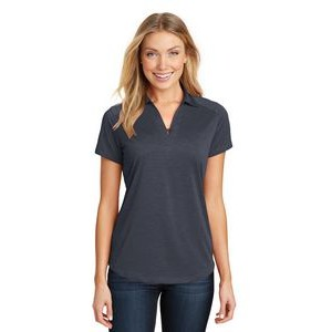 Port Authority® Ladies Digi Heather Performance Polo Shirt