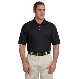 Devon and Jones Men's Pima Piqué Short-Sleeve Polo