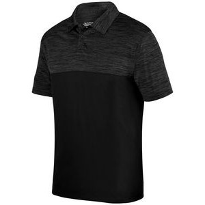 Augusta Adult Shadow Tonal Heather Polo
