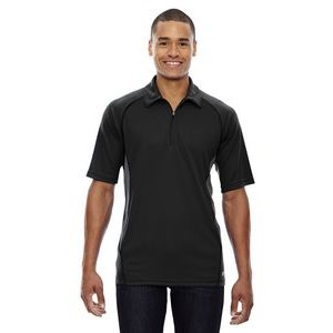 NORTH END SPORT RED Men's Serac UTK cool-logik? Performance Zippered Polo