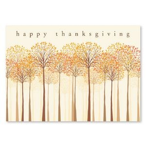 Thankful Trees Greeting Card