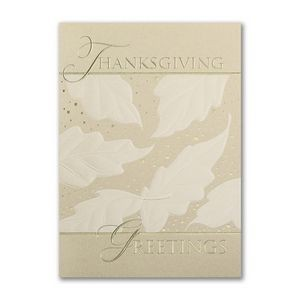 Thanksgiving Recognition Holiday Card