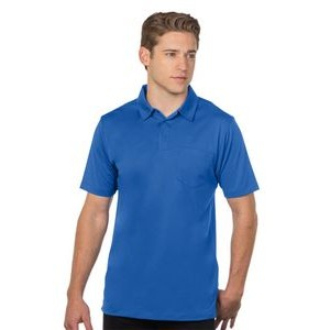 Men's Tri-Mountain Performance® Stalwart Pocket Snag-Resistant Polo