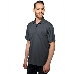 Men's Tri-Mountain Performance® Vital Pocket Performance Polo