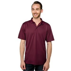 Men's Tri-Mountain Performance® Vital Mini-Pique Performance Polo