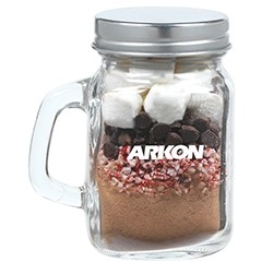 Hot Chocolate Kit in Mini Mason Jar