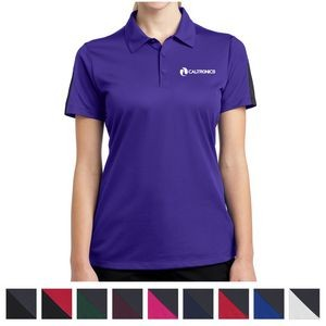 Sport-Tek® Ladies' PosiCharge® Active Textured Colorblock Polo