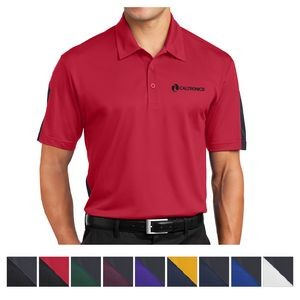 Sport-Tek® PosiCharge® Active Textured Colorblock Polo